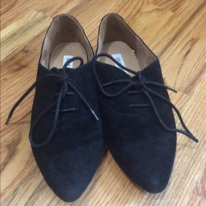 Steve Madden suede oxford shoes